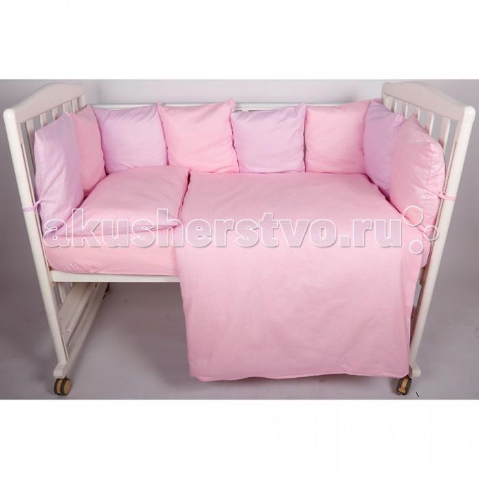Комплект в кроватку BamBola Мозаика 4 предмета