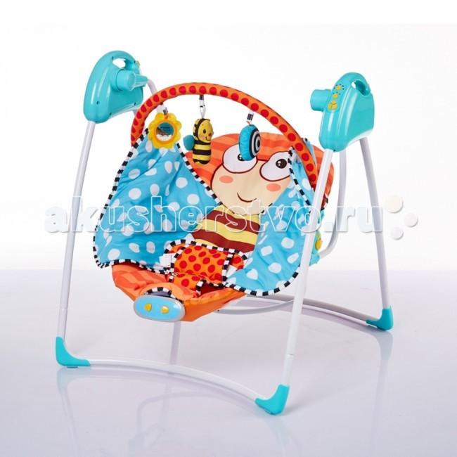 Качели электронные BamBola MusicaMusicaЭлектрокачели Musica обеспечивают плавное качание Вашего малыша и поможет быстро успокоить. Веселые игрушки на дуге над головой ребенка понравятся ребенку и помогут занять его внимание во время игр.   Характеристики: c дугой со съемными игрушками 5 скоростей качания 12 мелодий с адаптером может работать от 2 батареек АA 3 режима работы качелей (8, 15, и 30 минут) съемный чехол можно стирать крылья бабочки можно использовать как плед пятиточетный ремень безопасности  Размеры: 44.5х14х64.5 см<br>