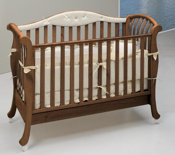 Детская кроватка Bambolina Divina Glamour Cristallo 125х65