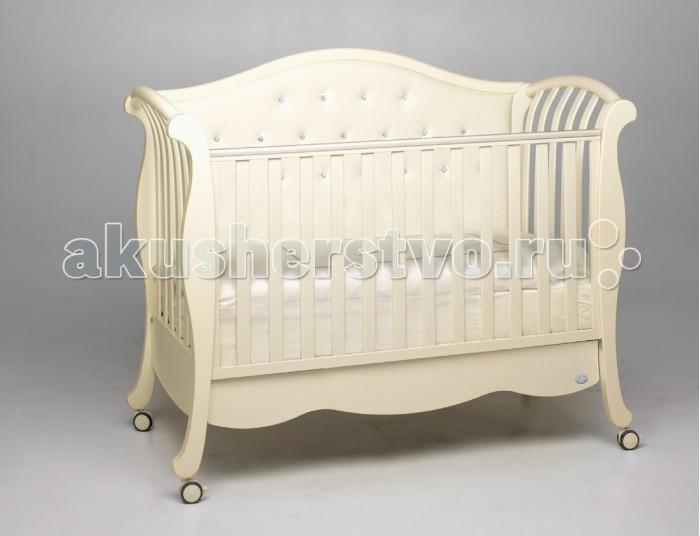 Детская кроватка Bambolina Divina Lux Cristallo