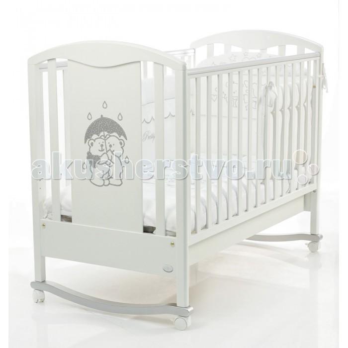 Детская кроватка Bambolina Tesoro 125x65