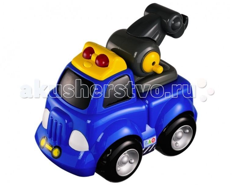 Smoby игрушечный Грузовикигрушечный ГрузовикГрузовик Bao - яркий небольшой по размеру, сможет создать для вашего ребёнка разнообразные игровые ситуации, и он сможет весело провести время.    Особенности:    Грузовик может издавать звуковые сигналы и светиться.   Материалом для изготовления грузовичка служит высококачественная пластмасса.   Для работы машины необходимо наличие батареек, которые не входят в комплект.  Машинка может светиться и издавать звук сирены.<br>