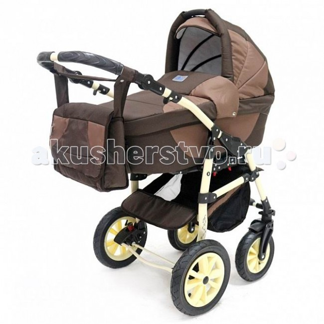 Коляска Bart-Plast Serenade PCO-F 3 в 1Serenade PCO-F 3 в 1Универсальная детская коляска Serenade 3в1 от Польского производителя BartPlast предназначена для детей с рождения и до 3-х лет. В комплект коляски входит автокресло-переноска, спальная люлька для новорожденного и прогулочный блок для подросшего малыша, которые можно устанавливать по ходу движения или против хода движения. Люлька коляски комфортная и удобная, сделана внутри из 100 % хлопка. Дно люльки – жесткое, это очень важно для правильного формирования позвоночника новорожденного малыша. Прогулочное сидение легко устанавливается на раму, имеет пятиточечные ремни безопасности, съемный бампер, регулируемое положение спинки. Для удобства родителей предусмотрены регулировка высоты ручки, корзина для покупок и сумка для мамы.   Колеса надувные, камерные, с современной системой амортизации. Передние поворотные колеса с фиксатором делают эту модель коляски маневренной и легкоуправляемой. Задние колеса, обеспечивают хорошую проходимость и позволяют преодолевать любые препятствия по бездорожью на прогуле. Ширина колесной базы позволяет с легкостью входить в стандартные лифты и двери, что не вызовет трудностей с транспортировкой коляски.  Коляска Serenade PCO-F BartPlast 3 в 1 оснащена всем необходимым для прогулок с ребенком, поездок и путешествий на автомобиле!  Яркая расцветка коляски – порадует родителей и малыша. Рама коляски цветная – это выглядит эффектно!  Автокресло: • Автокресло для детей (группа + 0 до 13кг.) • Анатомическая форма сиденья • Имеется адаптер, который позволяет закрепить автокресло на раму коляски • Трехточечные ремни безопасности с центральным замком • Удобная ручка для переноски • Регулируемый капюшон • Противосолнечный козырек • Мягкий вкладыш • Накидка на ножки • Съемный чехол  Вес автокресло-переноски: 3.38 кг.   Люлька: • Тканевая люлька с жестким дном • Регулируемый по высоте подголовник • Удобная ручка для переноски, расположенная на капюшоне • Бесшумный механизм регулировки капюшо