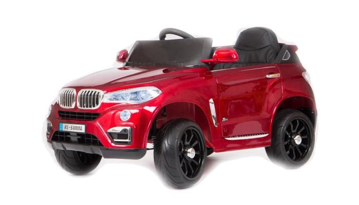 Электромобиль Barty BMW X5 VipBMW X5 VipВ электромобиле BMW-X5 имеется одно посадочное место. Двери мобиля открываются. Данная серия BMW рассчитана на нагрузку до 30 кг. Следовательно, маленьким водителем машины могут быть дети в возрасте не старше 7 лет. Две скорости назад и вперёд (3-5 км/ч), отличная маневренность.  Основные характеристики электромобиля Barty BMW X5 Vip: одно посадочное место большие колеса EVA с амортизаторами покраска глянец  аккумулятор 6V/4.5 Ah (2 шт.) два двигателя: 2x18W максимальная скорость 5 км/ч движение вперед и назад максимальная нагрузка 30 кг заводится с кнопки пульт управления Bluetooth кожаное сидение ремни безопасности удобный руль с музыкальными эффектами вход USB, MP3 диодные огни фар (передние и задние) открывающиеся двери вес: 14.2 кг размер: 105 х 67 х 55 см<br>