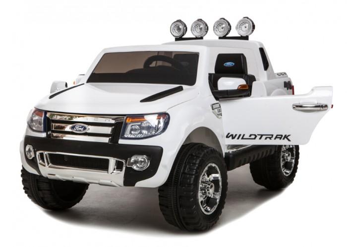 Электромобиль Barty Ford RangerFord RangerЭлектромобиль Barty Ford Ranger обязательно понравится вашему малышу и займет его внимание надолго. Повышенная проходимость, мощный двигатель и узнаваемый яркий дизайн внедорожника Ford.  Особенности: Амортизаторы (2 передних, 2 задних) Открываются двери и багажник Два мотора 2х35W/12V Один аккумулятор 1х12V/7AH 3 скорости вперед: первая передача 3 км/ч, средняя 6 км/ч, и третья - 9 км/ч Световые и звуковые эффекты, горят фары, переключатель мелодий на руле МР3-вход, USD слот для карты памяти, колонки, регулятор громкости Радио-FM приемник Два сиденья с ремнями безопасности, ширина сидения 48 см Пульт дистанционного управления - Bluetooth 2.4G Колеса с резиновыми накладками, размер колес 30 см Колёса EVA с высоким протектором; чехол на сидение из эко-кожи; ручка для удобства во время транспортировки (по типу чемодана); пульт bluetooth; медленный набор скорости; USB вход для прослушивания музыки; ключи для зажигания; яркая глянцевая покраска кузова; открывающийся капот и багажник; аккумулятор 12W 10AH.<br>