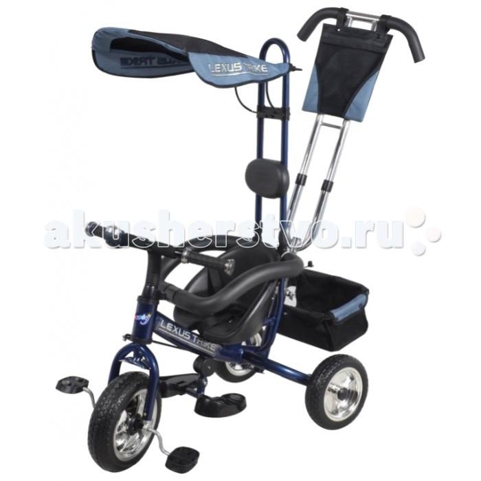Велосипед трехколесный Lexus Trike Barty ТС-12Trike Barty ТС-12Детский трёхколёсный велосипед Barty ТС-12 Lexus Trike  Замечательный велосипед для увлекательного путешествия Вашего малыша. Оригинальный дизайн и технические особенности придутся по вкусу Вашему крохе.  Особенности велосипеда: стальная облегченная рама соединение переднего колеса с вилкой из метала раздвижной барьер безопасности хромированная родительская ручка управления передним колесом хромированные диски хромированные вставки ручки руля мягкая накладка на сиденье 3-х точечные ремни безопасности складная, съёмная широкая подножка хромированный звонок тент с окошком сумочка большая багажная корзина  Размер велосипеда: 86 х 50 х 112 см  Диаметр переднего колеса 25 см, заднего 22 см Ширина покрышки спереди 7 см, задних колес 6 см<br>