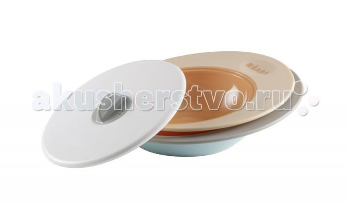 Beaba Набор тарелок Set Of Plates Ellipse
