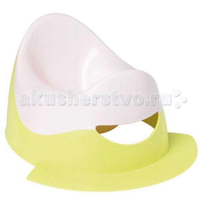 Горшок Bebe Confort двуцветный с подножкойдвуцветный с подножкойКомфортабельный эргономичный горшок, способствующий правильному положению ребенка. Имеет специальную подножку, предотвращающую расплескивание содержимого горшка.  Горшок двухцветный с подножкой имеет анатомический изгиб в форме седла, с выступом спереди и поддержкой сзади. Такая форма способствует правильному положению ребенка на горшке.<br>