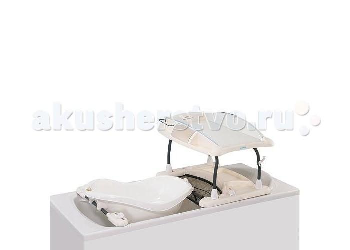 Пеленальный столик Bebe Confort Amplitude Duo LangeAmplitude Duo LangeОБРАТИТЕ ВНИМАНИЕ! Ванночка к пеленальному столику Amplitude Duo Lange продается отдельно!  Пеленальная доска, которую Вы можете установить на обычную ванную. Компактно складывается, подходит для большинства ванн. Идеальна для маленьких комнат.  Может использоваться с ванночкой ( до 5 мес.) и без ванночки после 5 мес.  Абсолютно безопасные креления.  2 закрытые и 4 открытые полочки для мелочей.  Размеры в разложенном виде: ДхШхВ 125х68х50  Размеры в сложенном виде: ДхШхВ 57х73х77<br>