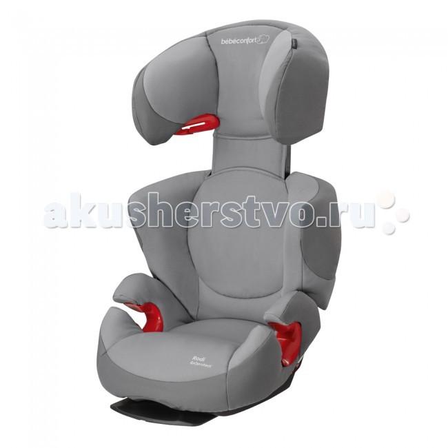 Автокресло Bebe Confort Rodi AirProtectRodi AirProtectАвтокресло Bebe Confort Rodi AirProtect для детей от 4х до 12 лет.  Устанавливается на заднем сиденье, по ходу движения машины. Ремень проходит поверх кресла с ребенком, по специальным направляющим в подголовнике и под подлокотниками.  Крепится трехточечными ремнями автомобиля.   Основные характеристики: Оснащено запатентованной системой защиты от бокового удара AirProtect ® , позволяющей воздуху выходить из подголовника, рассеивая энергию удара Прочный и надежный корпус из АВС пластика. Пластик не трескается при увеличении нагрузки. Форма корпуса имеет форму соты, что позволяет достичь большой прочности при малом весе Кресло имеет регулировку ширины в плечах. Такая возможность будет очень кстати в зимнее время, когда ребенок, тепло одет или по мере роста. Регулировка имеет 2 положения Улучшенная защита при боковом ударе. Развитые боковины и объемный подголовник, надежно защитят ребенка. Специальный наполнитель амортизирует энергию удара и уменьшает нагрузки, передаваемые на ребенка Регулируемый подголовник, рассчитан на детей ростом до 150 см. Широкие боковины подголовника отлично защищают голову от ударов. Подголовник будет хорошим упором для головы во время сна При необходимости можно снять спинку и превратить кресло в бустер Регулируемый угол наклона спинки (2 положения) дает возможность подогнать форму кресла под сиденье конкретного автомобиля. Во всех автомобилях угол развала заднего сиденья разный, и чем плотнее удастся прижать кресло к сиденью автомобиля, тем выше будет уровень пассивной безопасности Простая и понятная схема проводки ремня. Все направляющие отмечены красным цветом. Ремень проходит через подголовник по специальной направляющей и под подлокотниками, но поверх ножек ребенка Нижняя часть кресла не повредит сиденье автомобиля т.к. имеет гладкую форму Материал обивки хорошо пропускает воздух и отлично отводит пары от тела ребенка Малый вес кресла  Вес 4.9 кг<br>