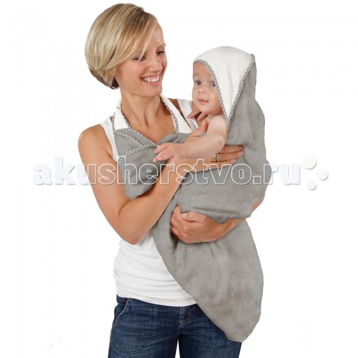 CuddleDry Простынка банная Lux для младенцев двойная 70х140 см