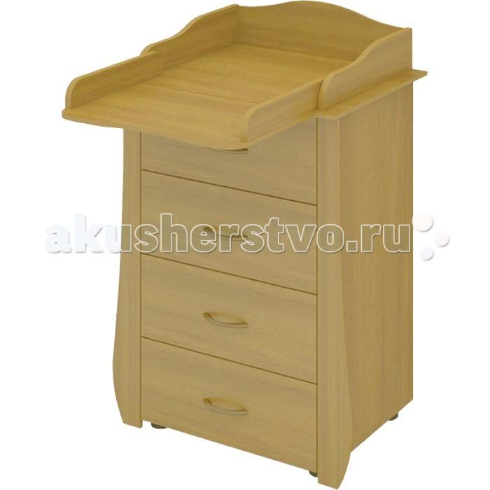 Комод Бэби Бум Maxim 70 пеленальный (4 ящика)