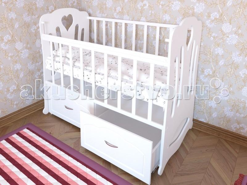 Детская кроватка Берегиня Анечка (маятник поперечный)