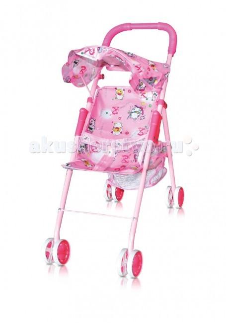 Коляска для куклы Bertoni (Lorelli) 816A816AМаленькая прогулочная коляска с тентом.   Для маленькой девочки и ее кукол для сюжетно-ролевых игр детей от 2-x лет.   Ребенок сможет сполна насладиться ролью заботливой мамы или папы.   Тканевый тент поможет ему защитить своего игрушечного любимца от солнца или непогоды.   В нижней части коляски закреплена сетка, в которую можно положить все самое необходимое. Вес (кг) 1.5 Вес в упаковке (кг) 1.7  Расцветки в ассортименте!<br>