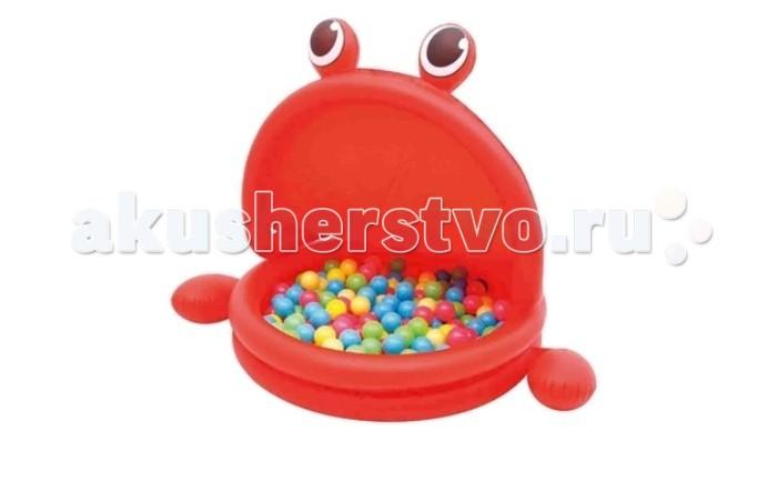 Bestway Надувной круглый с тентом с шариками