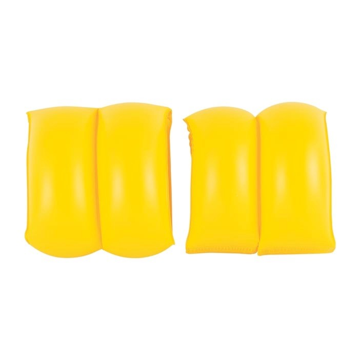 Bestway Надувные нарукавники 20х20 смНадувные нарукавники 20х20 смBestwey Надувные нарукавники 20х20 см  Особенности: Двухкамерные Материал: Винил Возраст: 3+ Внешний диаметр: 20 см Длина: 20 см Ширина: 20 см Цвет: Оранжевый, желтый<br>