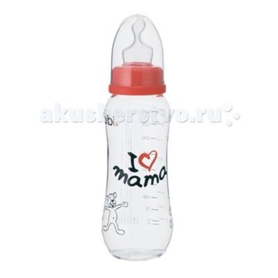 Бутылочка Bibi Mama/Papa комфорт силикон с 1 мес. 250 млMama/Papa комфорт силикон с 1 мес. 250 млБутылочка комфорт 250 с соской ортодонтической силикон 1 м + Mama/Papa. Бутылочка ёмкостью 250 мл Производится из качественного и безопасного прозрачного полипропилена, не содержит бисфенол А Форма бутылочки эргономична, что делает ее удобной в использовании Форма соски обеспечивает природное развитие прикуса малыша С яркой цветной надписию « I love mama » или «Papa is the best» на выбор Есть возможность стерилизовать бутылочку в СВЧ и посудомоечной машине.<br>