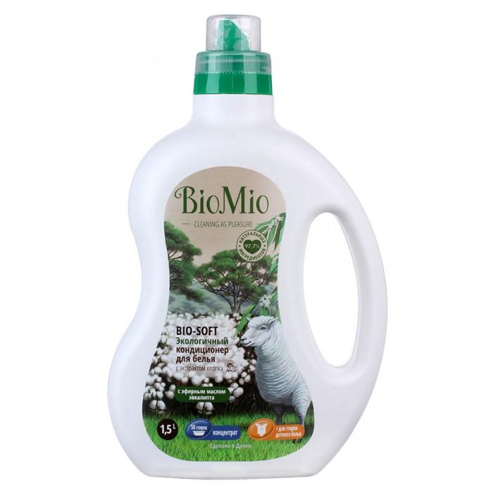 BioMio Экологичный кондиционер для белья с эфирным маслом и хлопком 1.