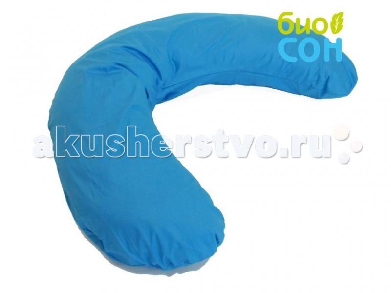 БиоСон Наволочка для подушки С 190х35Наволочка для подушки С 190х35Наволочка для подушки БиоСон С 190х35 выполненная из 100% хлопка в ярких и модных расцветках , превратит удобную и функциональную подушку для беременных и кормящих мам в прекрасное украшение вашей спальни.<br>