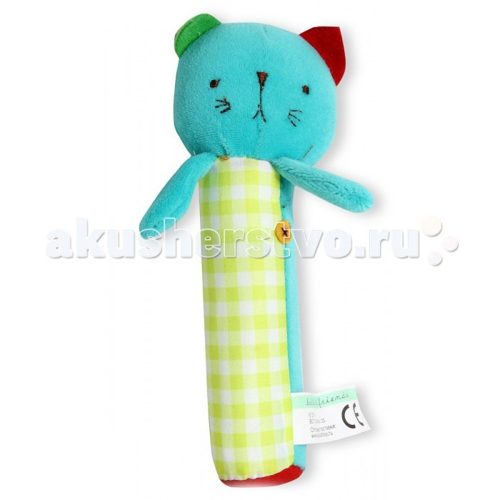Развивающая игрушка Bobbie & Friends Пищалка 17 см