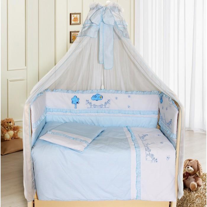 Комплект в кроватку Bombus Веселая семейка (7 предметов)
