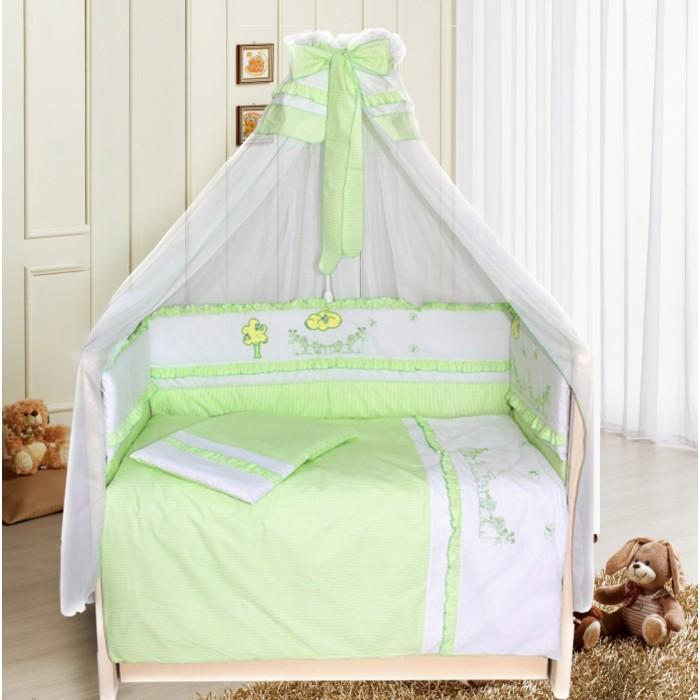 Комплект для кроватки Bombus Веселая семейка (7 предметов)