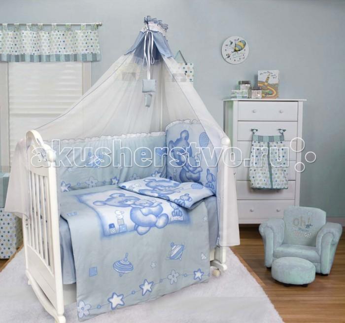 Комплект для кроватки Bombus Топтыжка (7 предметов)