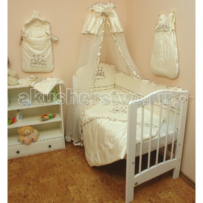 Комплект для кроватки Bombus Три медведя (7 предметов)