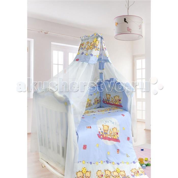 Комплект для кроватки Bombus Давай поиграем (7 предметов)