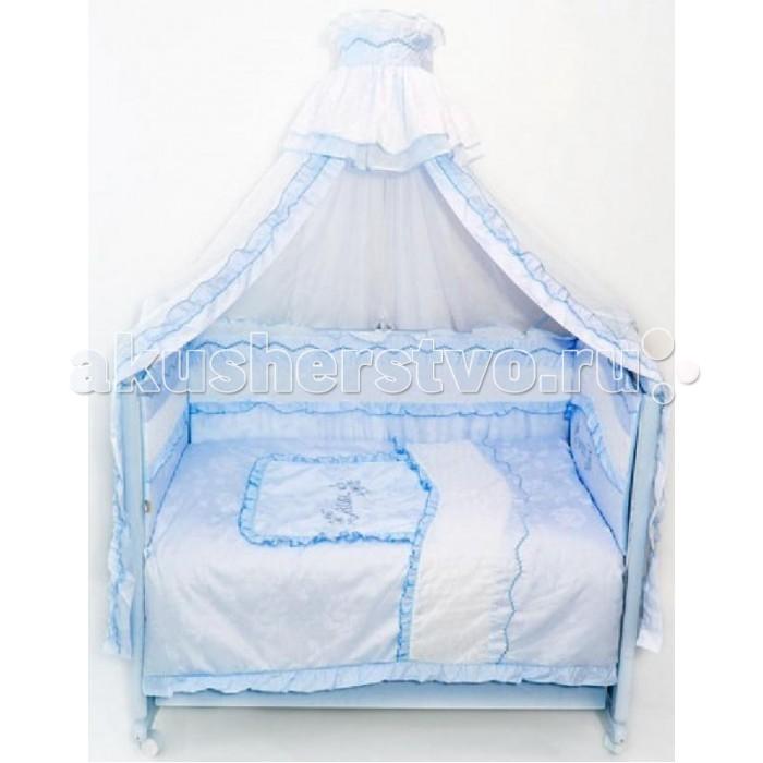 Комплект для кроватки Bombus Изабель (8 предметов)