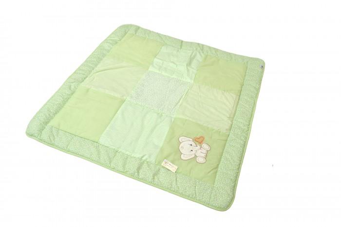 Одеяло Bombus Лоскутное с вышивкой 110х110 см