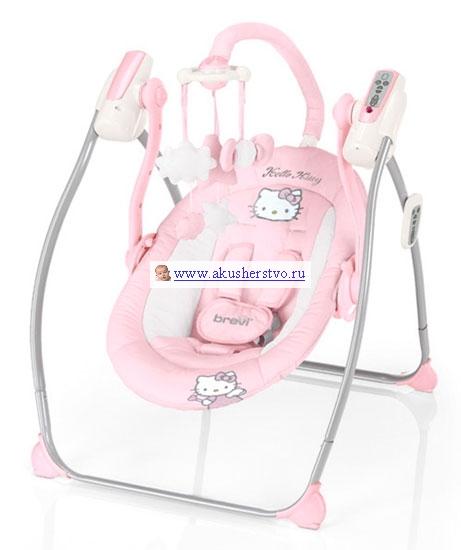 Качели электронные Brevi Miou Hello Kitty от Акушерство