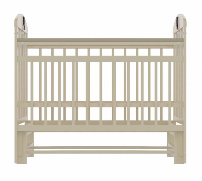 Детская кроватка Briciola - 9 (маятник продольный)- 9 (маятник продольный)Детская кроватка Briciola-9 (маятник продольный) – это современный дизайн, спокойная и мягкая расцветка, высокая функциональность, отменное качество изготовления, благодаря всем вышеперечисленным характеристикам модуль успешно впишется в любой интерьер помещения.  Достоинства детской кроватки Размеры ложа: 120х60 см Изделие выполнено из натуральных, гипоаллергенных и экологически чистых материалов, а именно массива березы Уровень ложа регулируется в двух положениях – для удобства доступа к малышу Боковая стенка легко снимается, таким образом, кроватка легко трансформируется в маленький диванчик Боковая планка регулируется по высоте при помощи специального бокового устройства Имеются специальные накладки ПВХ Раскачивание кроватки осуществляется продольным маятником; также предусмотрен специальный фиксатор, который блокирует раскачивание Бортики сделаны из ламелей, расстояние между которыми продумано с тем учетом, чтобы в них не застревали конечности малыша Полное отсутствие острых углов и выпуклых частей – риски получения травмы малышом сведены к нулю Детская кроватка Briciola-9 отличается простотой изготовления и удобством эксплуатации<br>