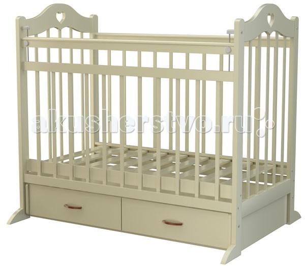 Детская кроватка Briciola 12 (маятник поперечный)