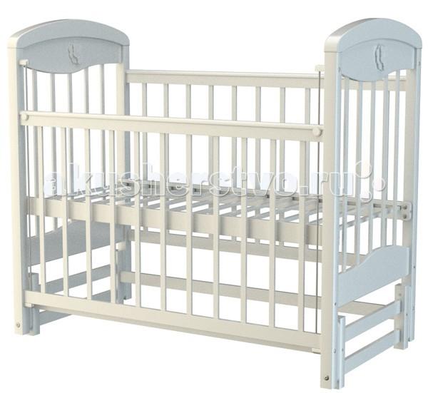 Детская кроватка Briciola - 2 (маятник продольный)