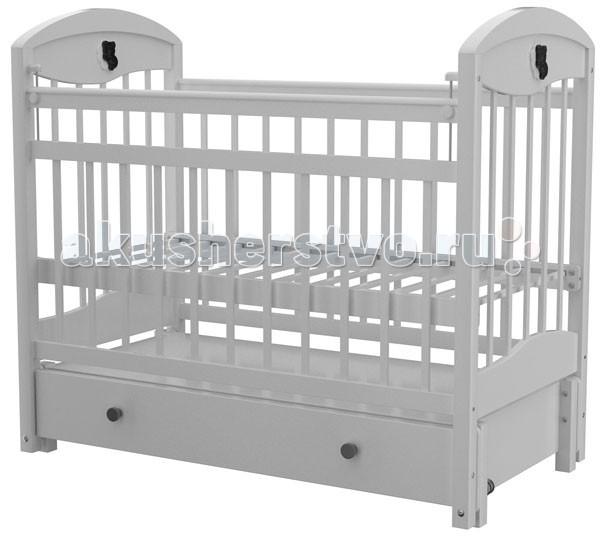 Детская кроватка Briciola - 3 (маятник продольный) автостенка