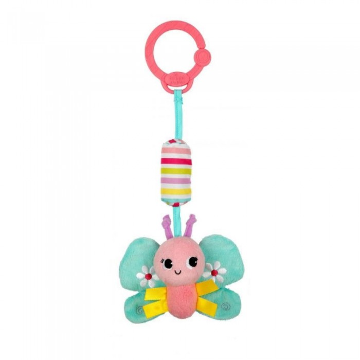 Подвесная игрушка Bright Starts Звонкий дружокЗвонкий дружокПодвесная игрушка Bright Starts Звонкий дружок станет настоящим подарком для любого ребенка. Забавные колокольчики станут настоящими друзьями для любого малыша, потому что они будут привлекать внимание и радовать ребенка. Яркие герои, которыми представлена игрушка и забавные текстуры развеселят даже самого прихотливого малыша. Развивающую игрушку можно с легкостью прикрепить на переноску, коляску и многие другие предметы, окружающие малыша. Удивительный, цветной дизайн станет приятной неожиданностью для вашего ребенка. Звонкий дружок - это великолепный выбор для вашего малыша.  Размер игрушки: 7 х 4 х 29 см<br>