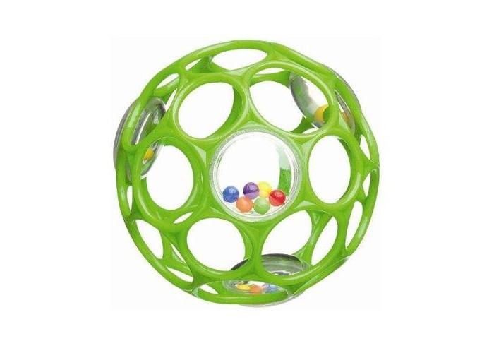 RhinoToys Мячик Oball гремящийМячик Oball гремящийРазвивающая игрушка RhinoToys мячик Oball гремящий — для деток с первых месяцев жизни. Этот разноцветный гибкий мягкий мяч станет любимой игрушкой малыша. Мяч имеет множество отверстий для пальцев, и ребенок без труда сможет поднять его и удержать в руках.   Особенности: 30 дырочек для детских пальчиков – удобно держать даже малышу Мягкий гибкий пластик приятен на ощупь, не поранит ребенка Бусины издают забавные звуки, когда малыш трясет мячик Развивает мелкую моторику, зрение и слух Подходит для детей всех возрастов Не содержит вредных веществ Можно мыть в посудомоечной машине Диаметр мячика: 10 см<br>