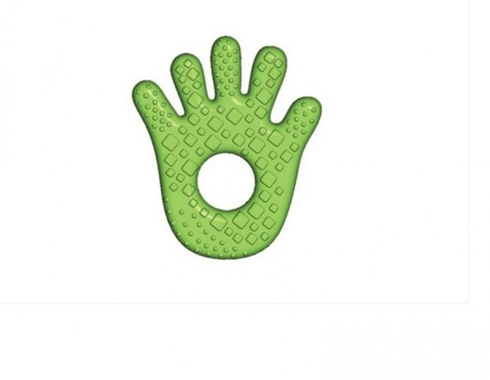 Прорезыватель Bright Starts для зубокдля зубокBright Starts Прорезыватель для зубок 10112  Мягкий прорезыватель в виде ладони наполнен водой и имеет удобную форму, чтобы малышу легче было держать игрушку. Ее поверхность зеленого цвета и покрыта пупырышками. Основная функция такой игрушки – массаж десен, который способствует притоку крови. Также прорезыватель нужен малышам для формирования правильного прикуса и облегчения боли при формировании зубиков.  Особенности: Мягкий прорезыватель для зубок наполнен водой Удобно держать маленькими ручками Для малышей от 3-х месяцев Размеры товара: 9 х 2 х 18 см<br>