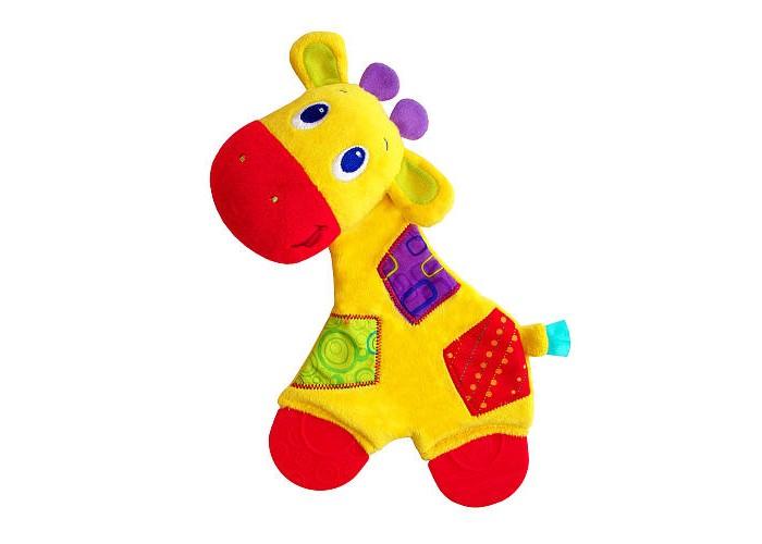 Мягкая игрушка Bright Starts Самый мягкий друг с прорезывателями