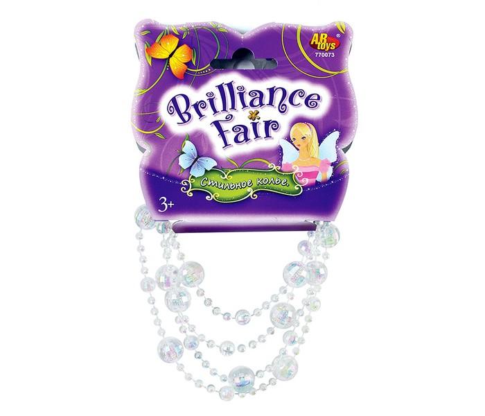 Brilliance Fair Колье 130 смКолье 130 смBrilliance Fair Колье 130 см отлично будет смотреться с платьем на день рождения и дополнит карнавальный костюм, например, Снежинки или Снежной королевы на утреннике.   Колье состоит из полупрозрачных шариков разного размера, нанизанных на нитку. Украшение можно сложить в два раза - так оно будет смотреться еще эффектнее!<br>