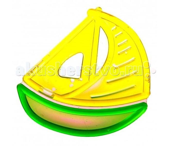 Прорезыватель Бусинка с водой Мишка и Кораблик