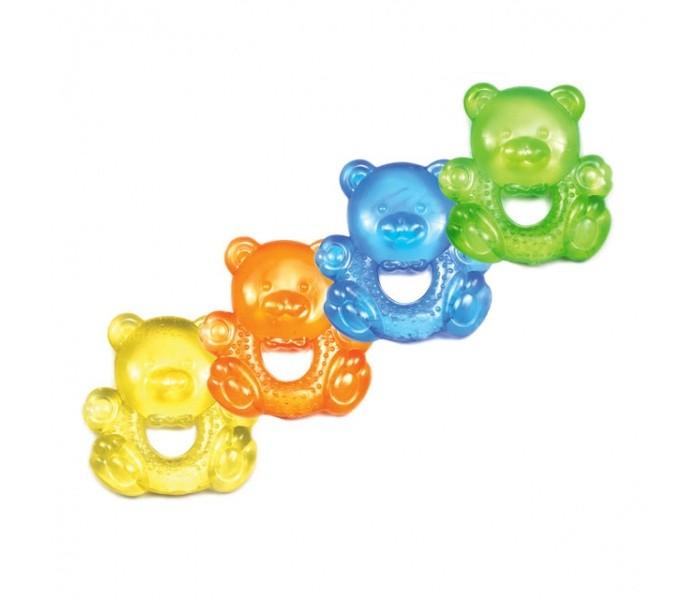 Прорезыватель Бусинка с водой Мишка и Корабликс водой Мишка и КорабликПрорезыватель Бусинка с водой Мишка/Кораблик   Прорезыватель для зубов мягко массирует нежные десна малыша, облегчает дискомфортные явления в период прорезывания зубов.   Изготовлен из высококачественного мягкого, но прочного, нетоксичного материала. В качестве наполнителя используется дистиллированная вода.  Благодаря удобной форме прорезывателя можно достичь всех уголков ротовой полости ребенка.   Можно охлаждать в холодильнике.<br>