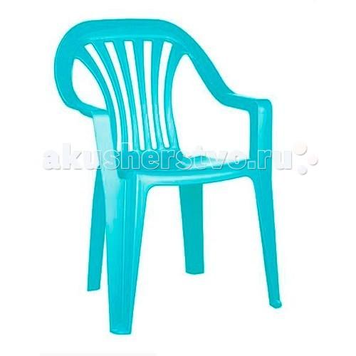 Бытпласт Стул детскийСтул детскийЛегкий, прочный и устойчивый детский стул Фея. Эргономичный дизайн, удобные подлокотники.<br>