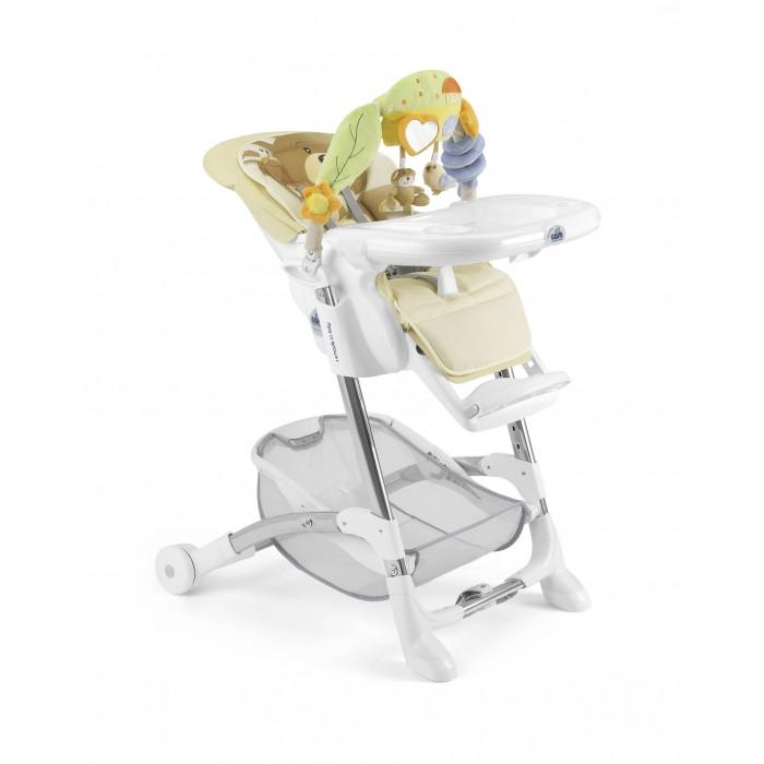 Стульчик для кормления CAM IstanteIstanteCAM Istante - это универсальный и многофункциональный стульчик до 3-х лет в котором реализованы все основные функции, так необходимые маме в повседневных заботах о малыше: регулируемая спинка сиденья с мягкой вставкой для новорожденных, где малыш может комфортно поспать, регулировка высоты, дуга с развивающими игрушками и прочная рама, рассчитанная на долголетнюю эксплуатацию. CAM Istante выполнен в 5-ти многообразных расцветках с нежными оттенками, приятными для восприятия новорожденными.   Основные характеристики: - устойчивый и прочный каркас с не скользящими накладками; - комфортабельное сиденье с мягкой вставкой для новорожденных - обеспечивает высокий уровень комфорта и здоровое развитие малыша; - спинка сиденья регулируется вплоть до положения для сна - здоровый сон после кормления; - 5-ти точечные ремни безопасности; - дополнительный ограничитель между ножек - обеспечивает дополнительную безопасность ребенка; - легко моющийся столик для кормления и игр, съемный, его можно даже помыть в посудомоечной машине; - красивая дуга с игрушками для развития моторных навыков малыша - при необходимости снимается; - регулировка стульчик по высоте в 5-ти положениях: от самого низкого до самого высокого - позволяет подстроить стульчик практически под любой стол; - задняя часть рамы снабжена колесиками с помощью которых мама легко сможет переместить его по квартире; - передняя часть рамы снабжена не скользящими ножками, которые обеспечивают дополнительную безопасность - без Вашего ведома стульчик не скатится и не уедет; - под сиденьем располагается большая корзина для игрушек и вещей; - обивка стульчика Cam Istante съемная и ее можно стирать при температуре 30°. Размеры стульчика в собранном виде (длина х ширина х высота): 80x65x105 см. Вес: 10,5 кг.  В комплекте: стульчик для кормления Cam Istante, дуга с подвесными игрушками, корзинка для игрушек и вещей, съемный столик.<br>
