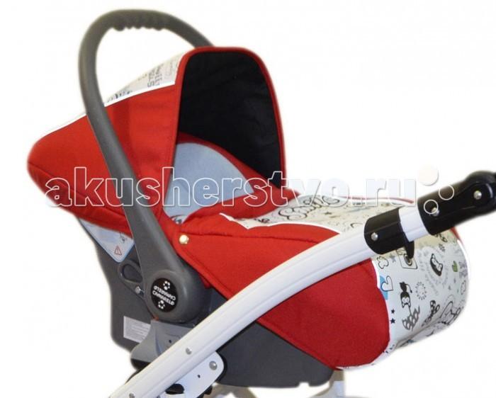 Автокресло Camarelo Vision DesignVision DesignАвтокресло Vision Design (0-13 кг) можно установить не только в автомобиле, но и на раму коляски Camarelo Vision, что при походах в гости или по магазинам позволит молодым родителям не брать с собой люльку, а ортопедический матрасик в автокресле проследит за правильным развитием вашего малыша. Снизу автокресло имеет закругленную форму, благодаря чему оно без труда прямо в поездке превращается в колыбельку, где уютно и комфортно, как дома.  Характеристики: подходит с самого рождения и до 13 кг способ установки спиной вперед количество положений ручки: 2 автокресло оборудовано двухсекционным складывающимся и раскладывающимся капюшоном чехол на ножки малыша дополнительный вкладыш для новорожденного с функцией колыбели на полу (функция качания) удобная регулируемая ручка съемная обивка для деликатной стирки трехточечная система крепления малыша фиксация в автомобиле против хода движения, штатным ремнем или через базу Isofix (приобретается отдельно) европейский сертификат безопасности ECE R44/04 легкая установка на шасси через адаптеры (входят в комплект)<br>