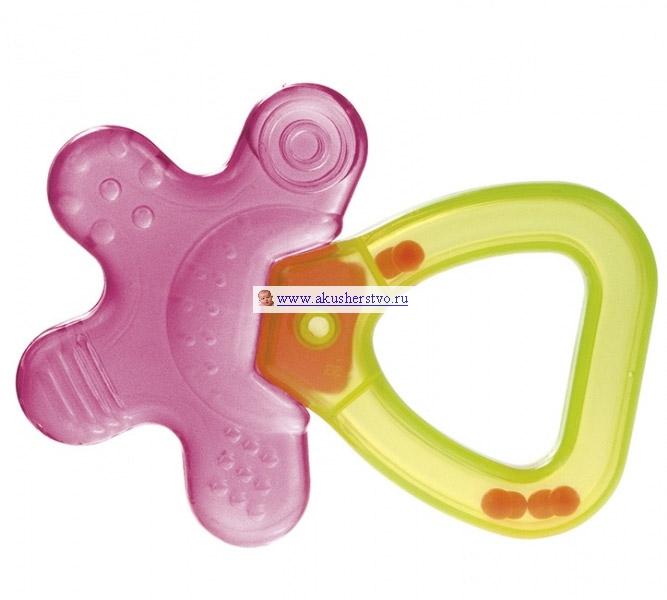 Прорезыватель Canpol Футбол/Цветочек охлаждающийФутбол/Цветочек охлаждающийПрорезыватель-погремушка Canpol Футбол/Цветочек охлаждающий 74/002 и 74/003 успокаивают боль в деснах, когда у малыша начинают резаться зубки.   Вода в прорезывателе прошла процесс дистилляции LGT, благодаря которому в воде не появляются бактерии и не выпадает осадок. Просто поместите его в холодильник на 10-15 минут и дайте малышу.   Прорезыватель изготовлен из нетоксичного мягкого материала.  Его легко брать и держать маленькими ручками.  Приятный звук погремушки привлечет внимание малыша, будет способствовать развитию слуха.  Не замораживайте и не кипятите прорезыватель.<br>