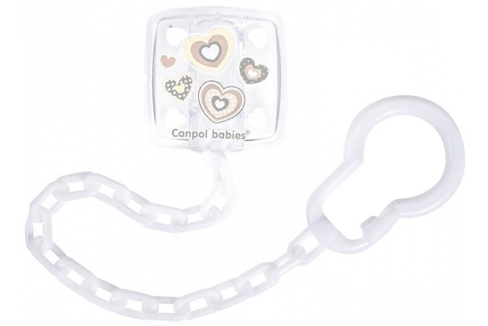 Canpol Клипса-держатель для пустышек Newborn baby