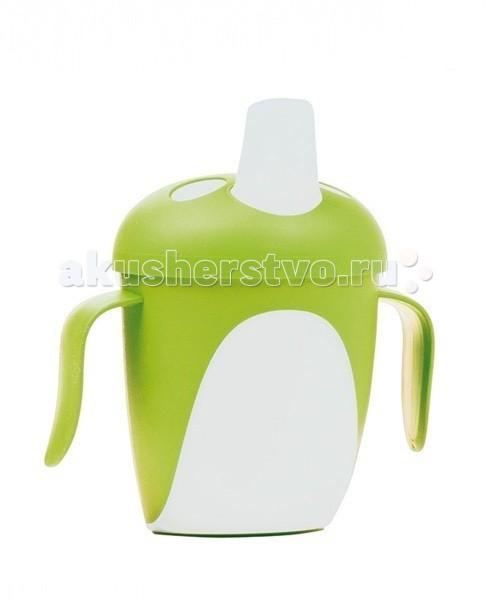 Поильник Canpol Пингвин 250 млПингвин 250 млПоильник Canpol Пингвин – создан по проекту английской мамы Мэнди Хаберман - изобретательницы первой непроливайки.  Особенности: Благодаря уникальному непроливающему клапану, малыш может спокойно пить самостоятельно, не боясь пролить жидкость. Удобные прорезиненные ручки позволяют легко удерживать поильник в маленьких руках. Простой дизайн поильника позволяет легко содержать его в чистоте. Кружка-непроливайка Пингвин изготовлена из безопасных, нетоксичных материалов. Не содержит Бисфенол-А.<br>
