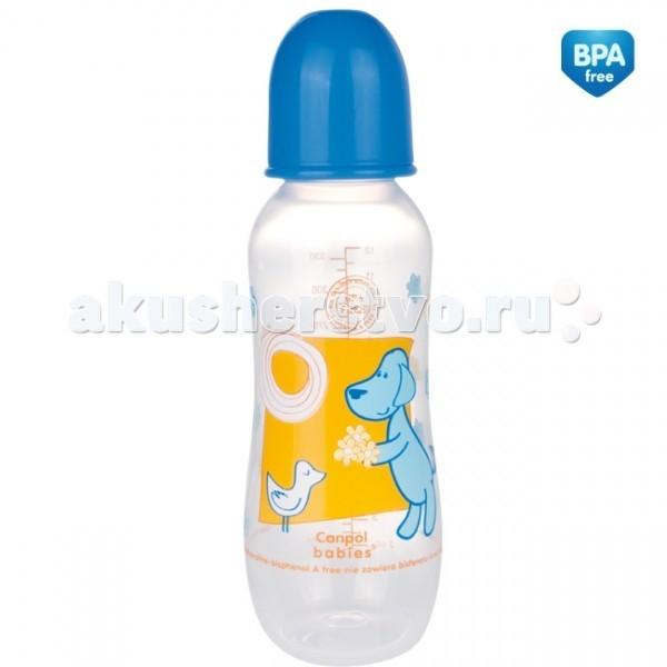 Бутылочка Canpol пластиковая 330 мл 59/205